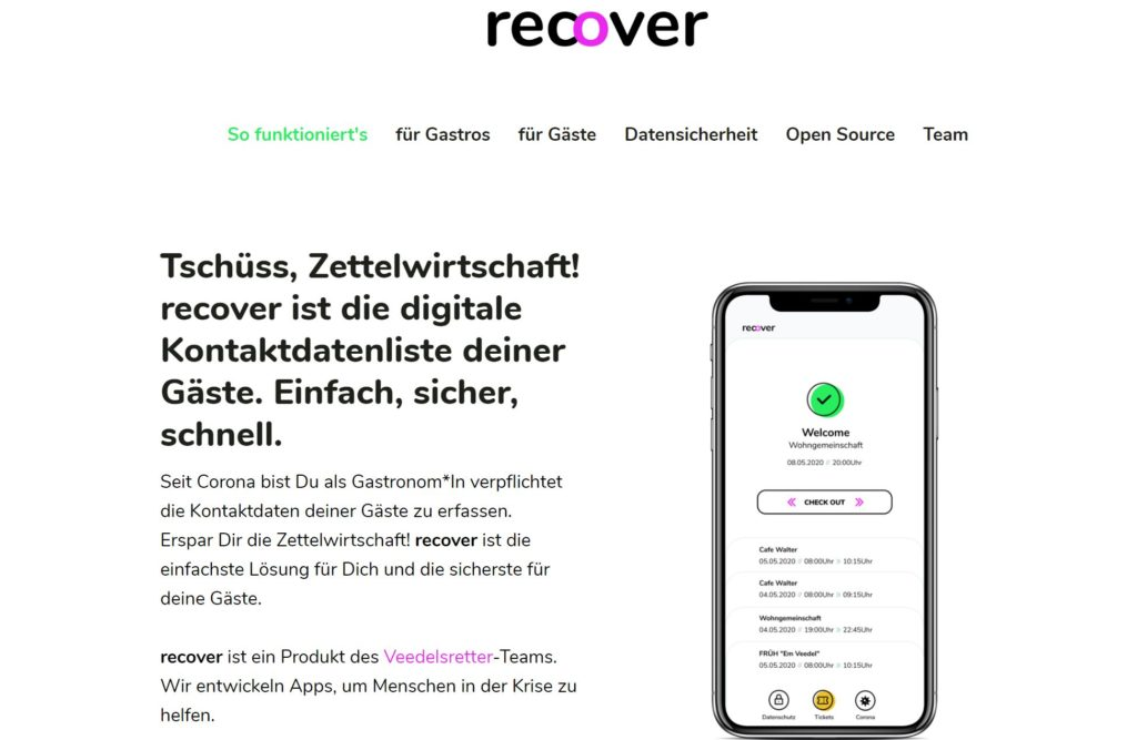 Recover
